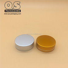 38mm silver gold electroplated aluminum cap for medicine bottle
