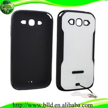 Heavy duty slim shell kickstand TPU PC Hybrid Case for Sasmsung S3 I9300