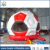 Huale hot selling red soccer kids jumper/football bounce house/inflatable jumpers for toddlers