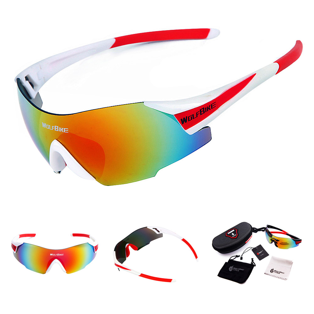 Men Women Outdoor Windproof Motorcycle Cycling Glasses UV Protection OutdoorBike Riding Sports Eyes Protect Equipment