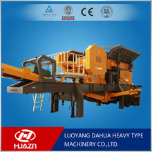 Luoyang Dahua product overview mobile crusher and main technical parameters YD mobile crushing plant