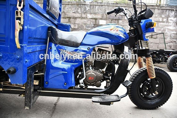 gasoline drived three wheel motocycleusedmini electric 3 wheel motorcycle