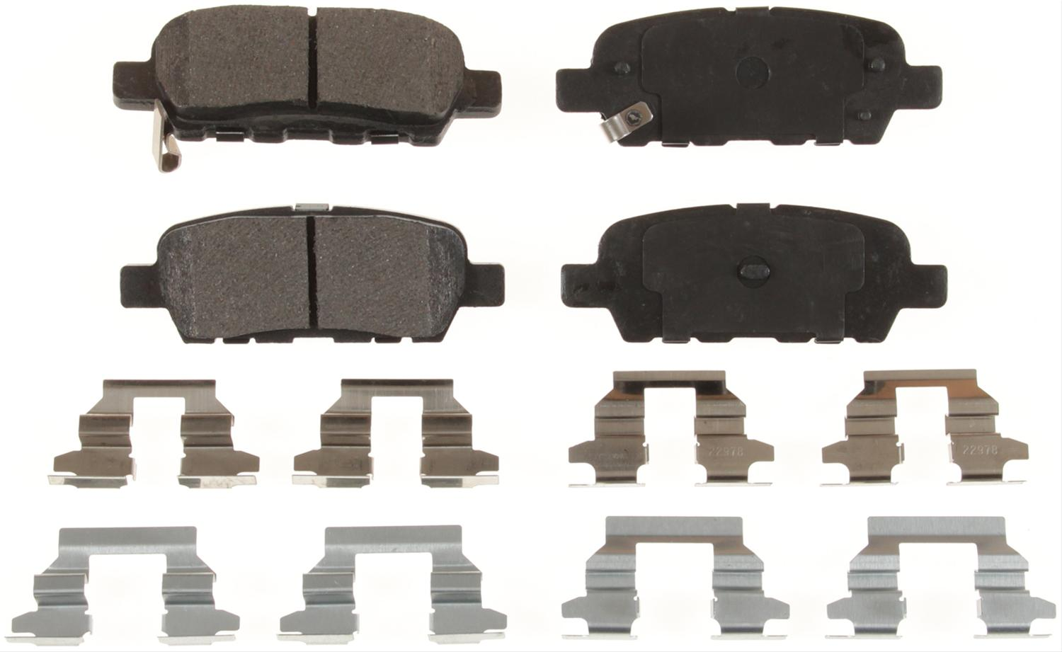 Top Rated Slotted Brake Pad D905