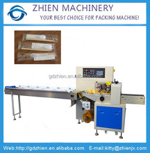 ZE-250X Horizontal flow plastic cutlery packing machine