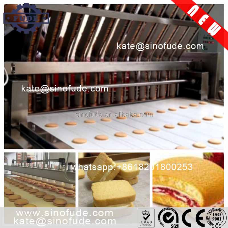 automatic Biscuit machine Cookie capper production <strong>line</strong>