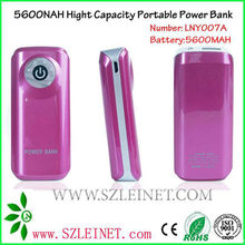 2012 New Products 5600MAH High Capacity Battery Power Pack Supply