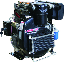 20HP Twin Cylinder Lombardini Diesel Engine