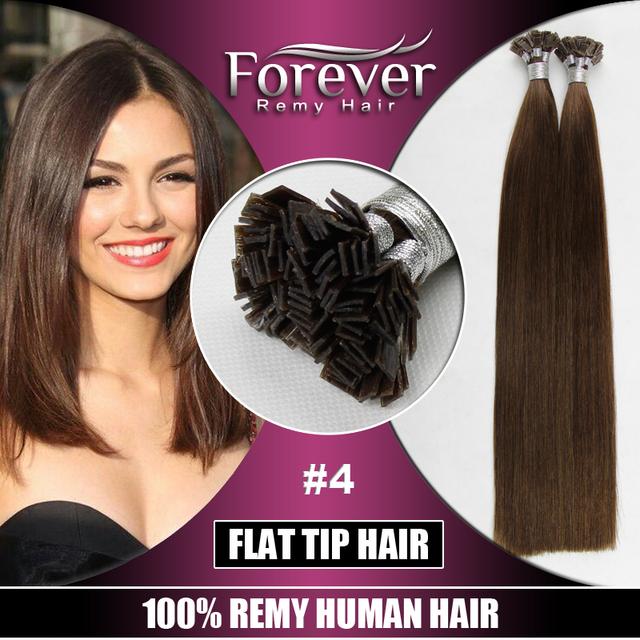 2016 UK most popular Peruvian Hair Dubai Free Shedding Free Remy human italian keratin Flat Tip double drawn hair extension