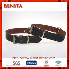 ALL SIZES Cow Leather Dog Collars Leather Collar Dog Cat Pet Supplies Pet Gift