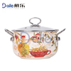 5pcs Non-stick casserole set/enamel pot