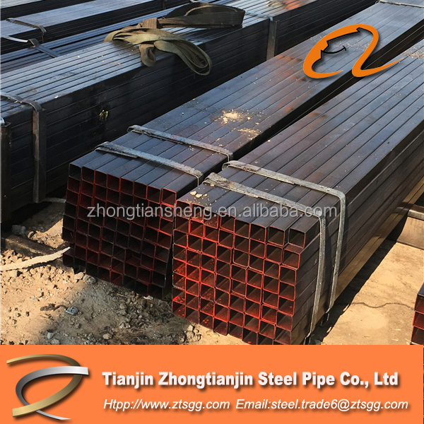 30mm*30mm ERW welded cold rolled Q235 square carbon steel pipe/ tube
