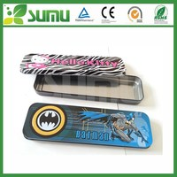 Rectangular Shaped Packaging Multiplication Table Pencil Box