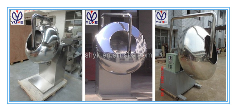 Small spray tablet coating machine