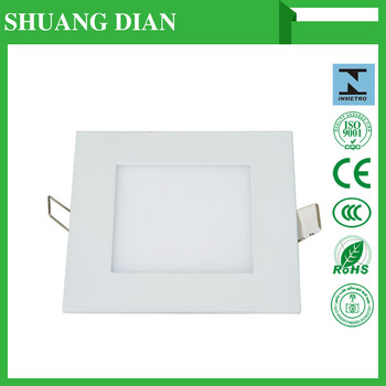 2016 led flat Panel light zhong shan henglan lighting factory LED panel lamp 3w/7w/9w/12w/15w/18w