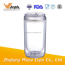 17oz Customized color plastic cola mugs,disposable tumbler cup(s)