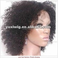 fashion afro kinky curly lace front wig