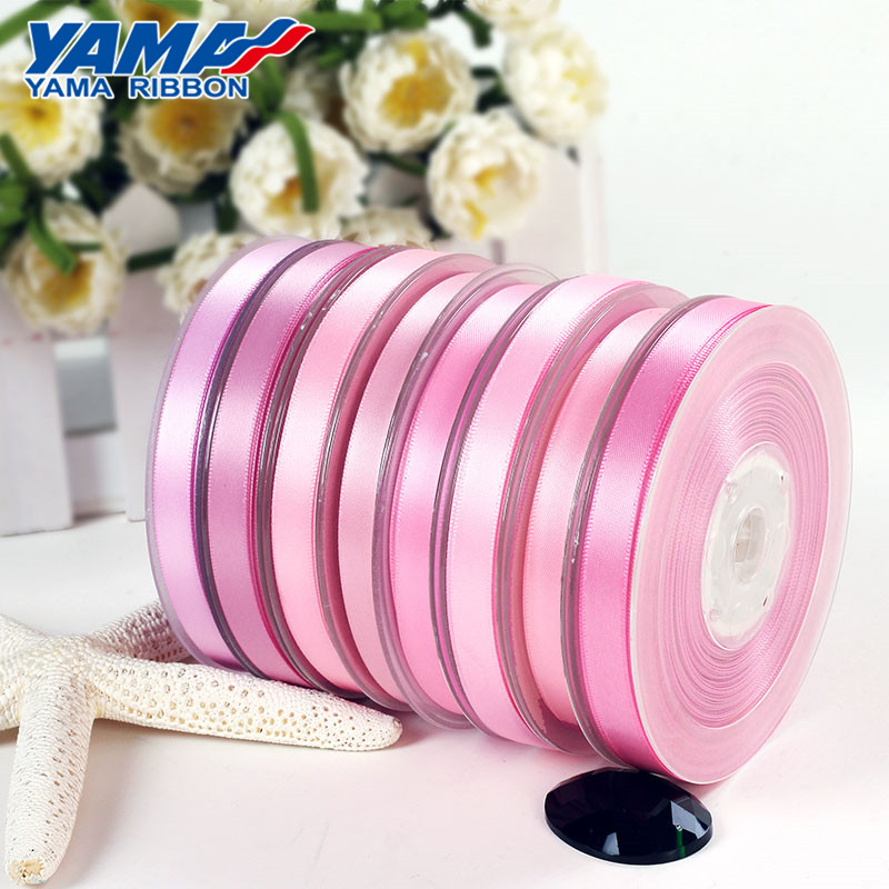 Wholesale custom solid color polyester fabric stain ribbon