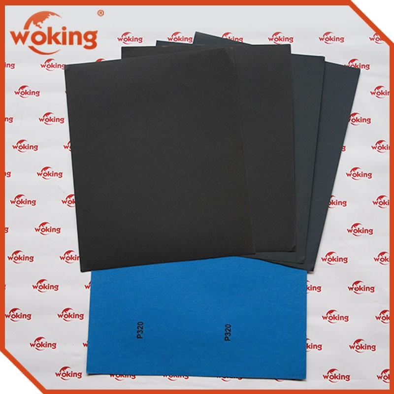 Electro Coated Waterproof Silicon Carbide Abrasive Sand Paper