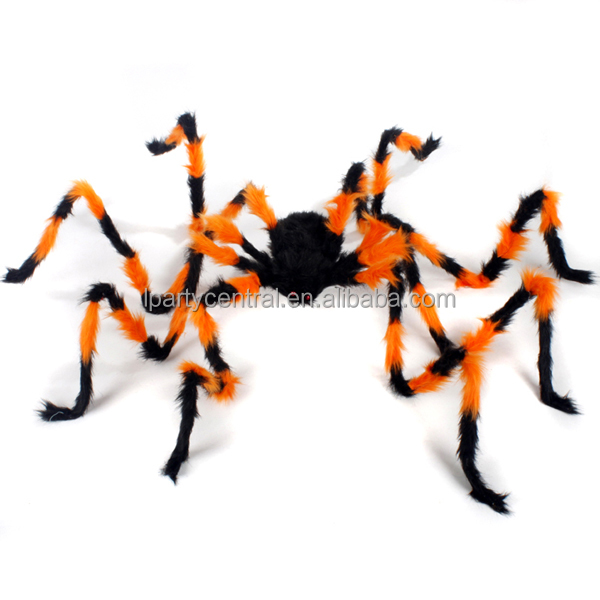 Halloween decorations big size plush spider LP