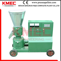 230 Bagasse small Wood Pellet Machine making sgs pellets hot sale in Germany