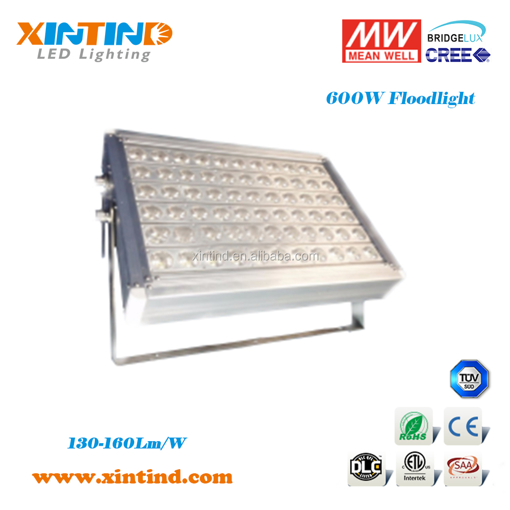 600W,High power & high CRI dimming COB LED floodlight for tunnel,stadium,packing lot wharf, yard, airport lighting--Xintind