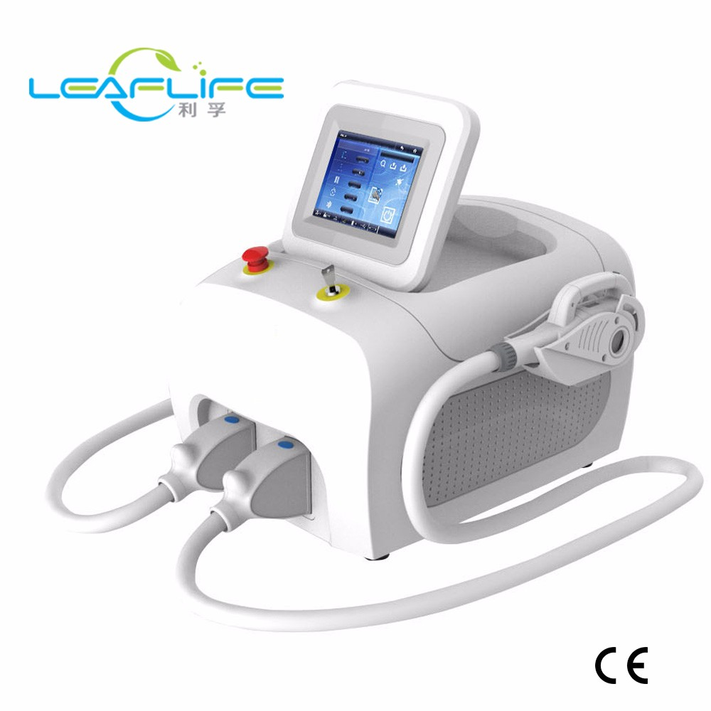 2017 Leaflife Portable hair removal laser ipl rf