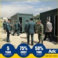 Ark Flatpack Long Lifespan Top Quality Good Price military camps