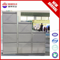 metal pink four drawer vertical filing cabinet export to Dubai