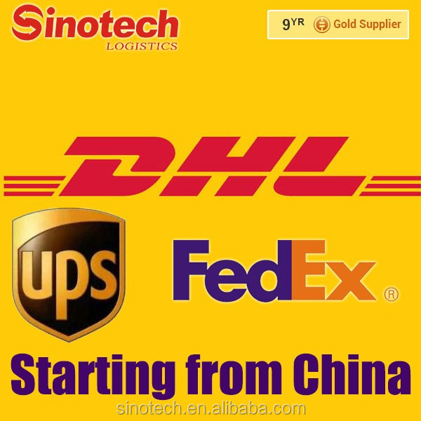 Courier Service DHL, UPS, FEDEX, EMS, TNT Express shipping from China to the world