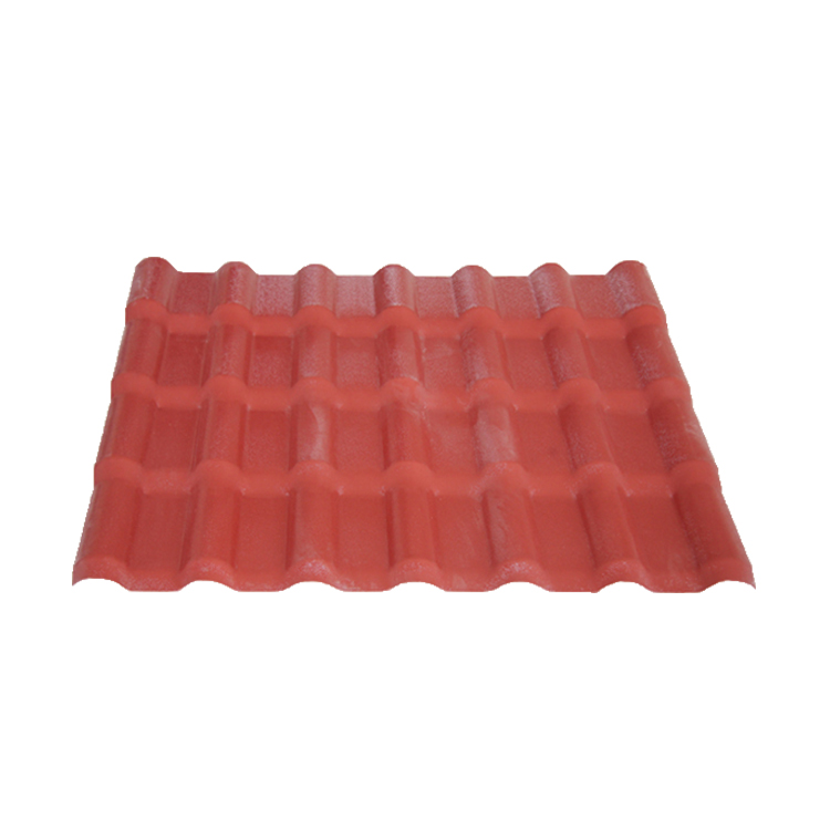 2018 new style light weight wave roofing sheet pvc building material
