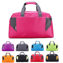 2017 Nylon Holdall Weekend Overnight Gym Sports Travel Bag ladies With Straps