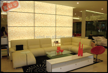 Alibaba China Gold Suppliers Translucent Resin Onyx backlit wall panels
