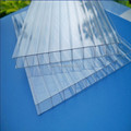 Hangmei Ten-year warranty double wall hollow polycarbonate sheet uv coated