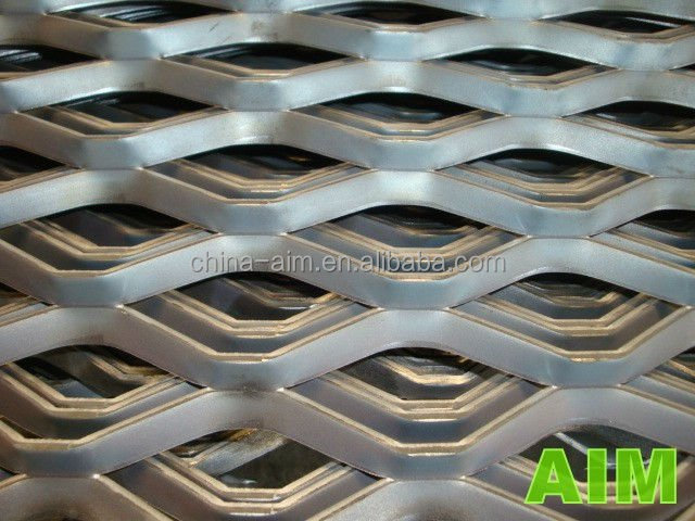 4.5mm thick standard expanded metal for Walkways and Stair Treads