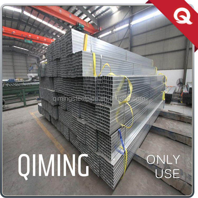 non-alloy square tube galvanized seamless steel pipe for greenhouse