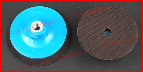 Polishing pads connector - Snail lock or Aluminous