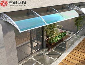 polycarbonate Outdoor window Rain Shelter awning canopy