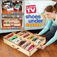 New 2015 multipurpose foldable storage boxs for shoes clothes socks
