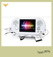 3.0 inch 32 bit TFT screen PMP4 video handheld game console with 100 funny games