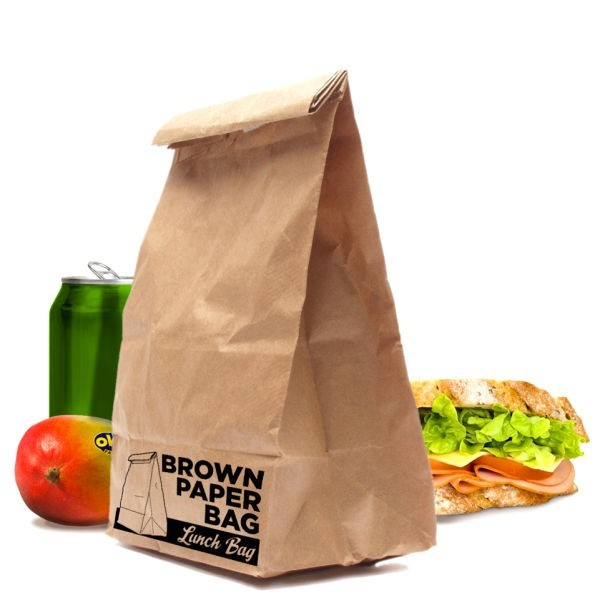 Food grade kraft paper side gusset bags,block bottom bag for food packing