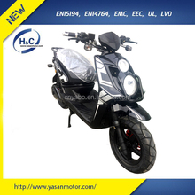 72V/3000W EEC electric moped for adults