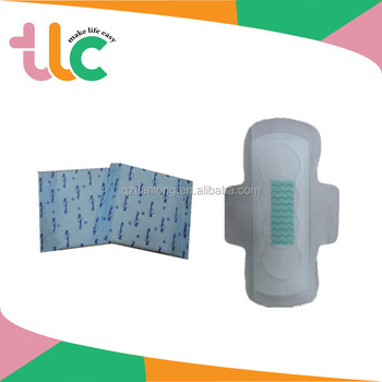 Disposable type sanitary napkins/ sanitary pad/sanitary towl with high quality nonwoven topsheet