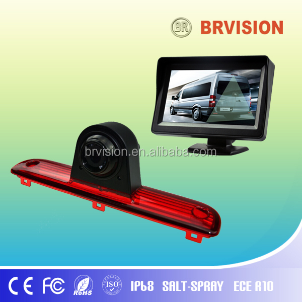 Rear view camera built in Break lights for Fiat Ducato, Peugeot Box, Citroen Jumper