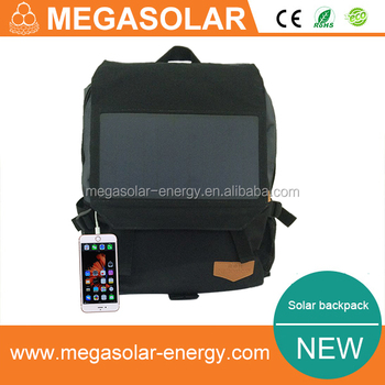 6w solar backpack for travel and camping
