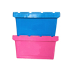 50kgs With Hinged Lid Plastic Stackable Storage Solid Box
