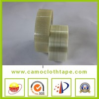 non alkali fiber glass tape with middle red line