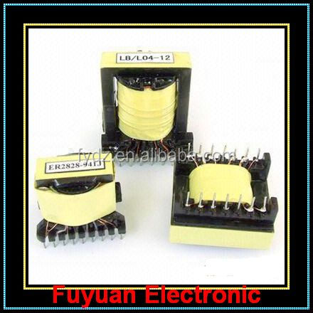 EER Type EER28 Ferrite Core High Frequency Transformer 28V OUTPUT VOLT with Current price 5+7 PIN