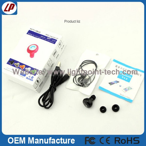 General bluetooth for samsung for iphone wireless earphone mini bluetooth earphone