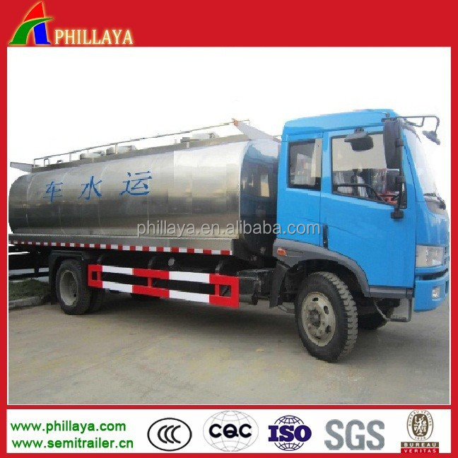 8 CBM water trucks for in uae /mini semi trailer for sale (other size optional)
