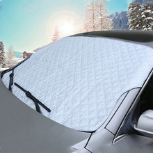 Universal Styling Front Window Advertising Car Sun Shade